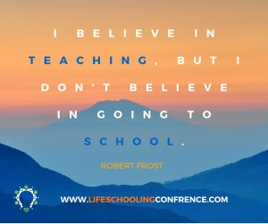 I BELIEVE IN TEACHING BUT I DON'T BELIEVE IN GOING TO SCHOOL