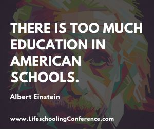 There is too much education in American schools.