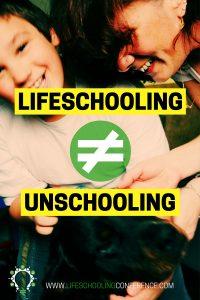 lifeschoolingvsunschooling