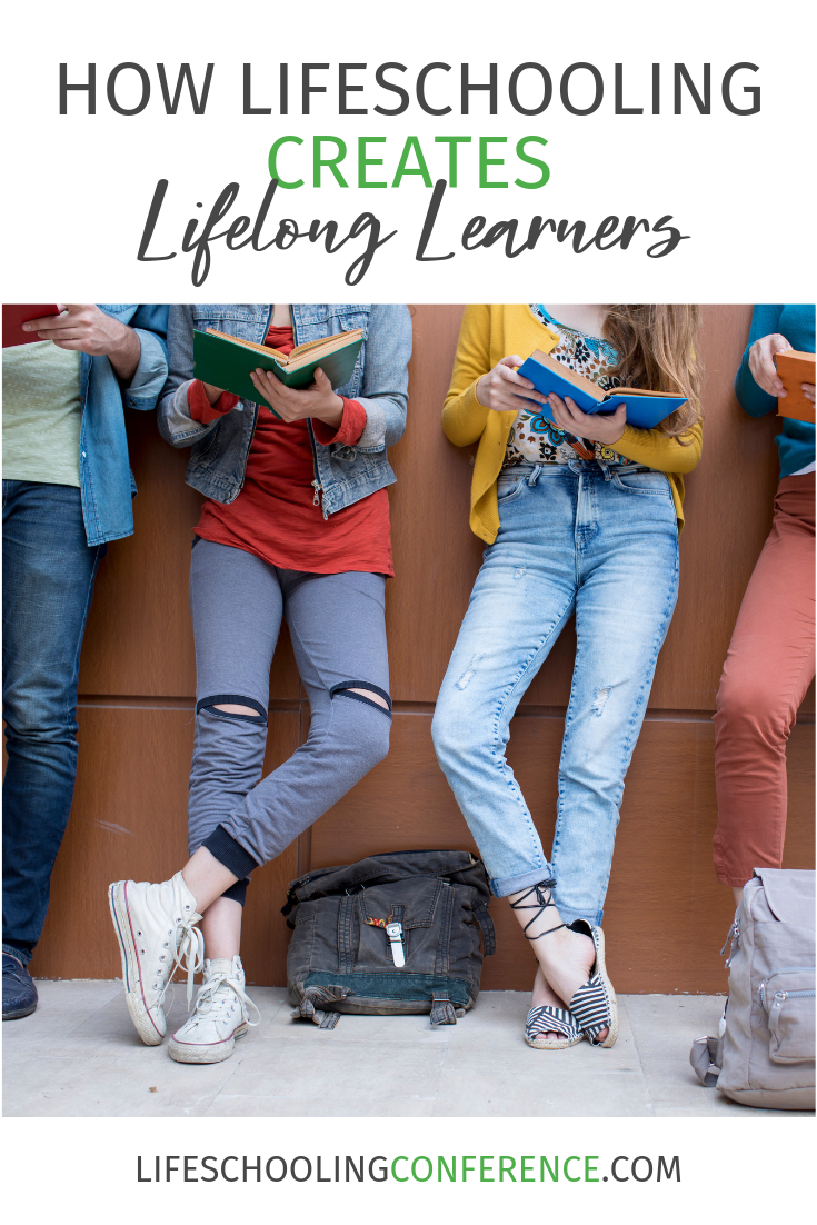 Creating this excitement about learning in real life situations and equipping kids to learn by modeling for them results in lifelong learners.