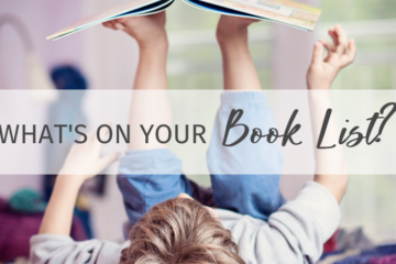 What's on your book list?