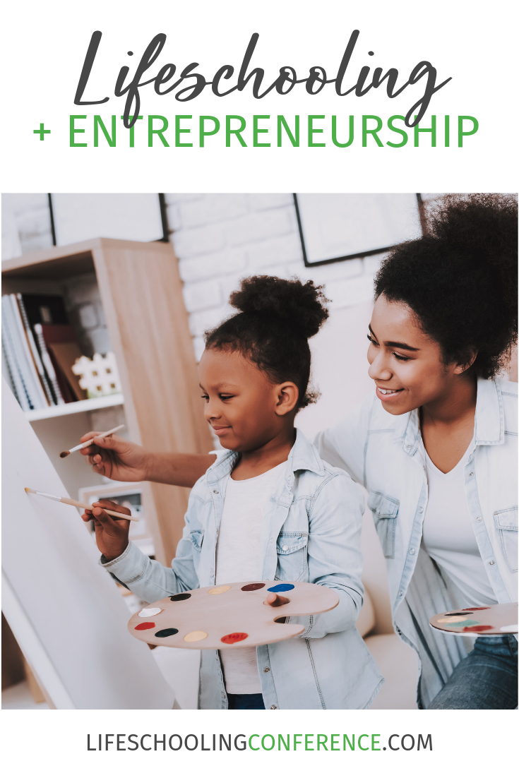 Entrepreneurship became a part of my life as we were beginning our homeschooling journey. Just like I didn't know I was to be an entrepreneur initially.
