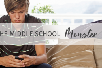 The Middle School Monster