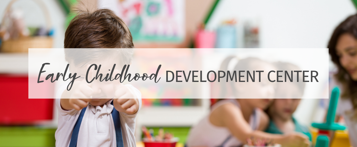 I Run an Early Childhood Development Center