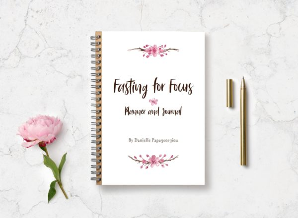 Fasting for Focus Journal and Planner