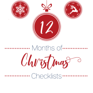 Christmas checklists