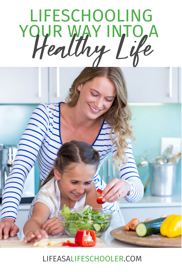 If you can commit to continuing to learn (lifeschooling), and grow you will make healthier choices and live a healthy life.