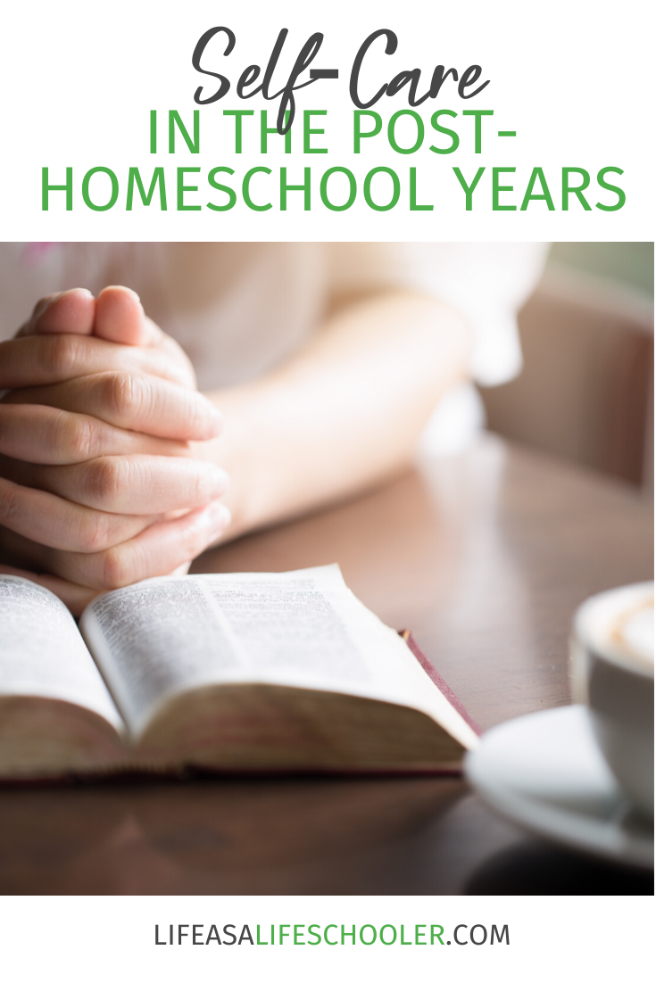 Today let me give you a few tips for showing yourself a little self-love and self-care when you find yourself in the empty homeschool nest years.
