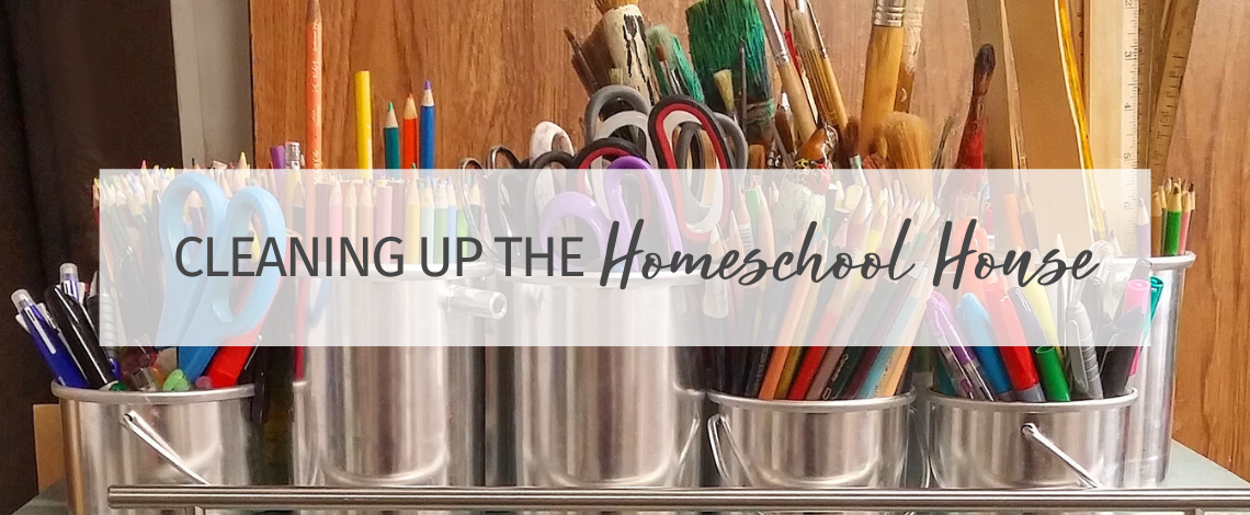 Cleaning up the 'homeschool house'