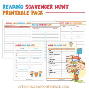reading scavenger hunt