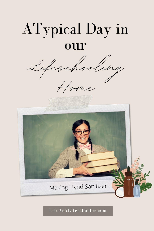 essential oils hand sanitizer lifeschooling